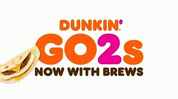 Dunkin' Go2s TV Spot, 'Now With Coffee' - Thumbnail 3