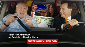 Publishers Clearing House TV Spot, 'Real People: $1,000 a Day' Featuring Terry Bradshaw - 532 commercial airings