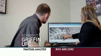 Hair Club EXT Extreme Hair Therapy TV Spot, 'Not Your Fault' Featuring Forrest Griffin - Thumbnail 6