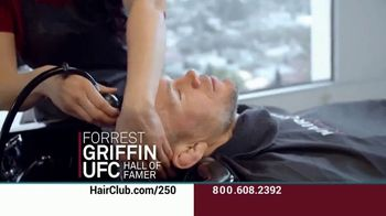 Hair Club EXT Extreme Hair Therapy TV Spot, 'Not Your Fault' Featuring Forrest Griffin - Thumbnail 7