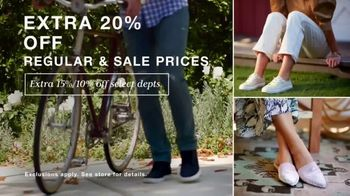 Macy's TV Spot, 'Refresh Your Look: Extra 20% Off' - Thumbnail 2