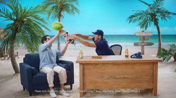 Corona Extra TV Spot, 'Draft Party' Featuring Tony Romo - Thumbnail 10