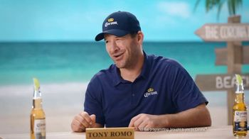 Corona Extra TV Spot, 'Draft Party' Featuring Tony Romo