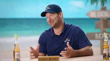 Corona Extra TV Spot, 'Draft Party' Featuring Tony Romo - Thumbnail 4