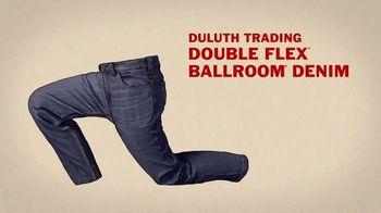 Duluth Trading Company Double Flex Ballroom Denim TV Spot, 'Double Flex' - Thumbnail 8