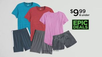Kohl's Epic Deals TV Spot, 'Athletic Shoes, Tees and Shorts' - Thumbnail 4