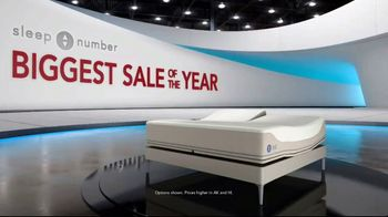 Sleep Number Biggest Sale of the Year TV Spot, 'Final Days: Snoring: Save $1,000' - Thumbnail 1