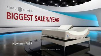 Sleep Number Biggest Sale of the Year TV Spot, 'Final Days: Snoring: Save $1,000' - Thumbnail 2
