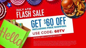 HelloFresh July 4th Flash Sale TV Spot, 'Less Kitchen Chaos' - Thumbnail 10
