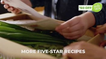 HelloFresh July 4th Flash Sale TV Spot, 'Less Kitchen Chaos'