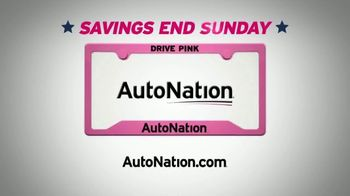 AutoNation July 4th Event TV Spot, 'Freedom From Payments' - Thumbnail 8