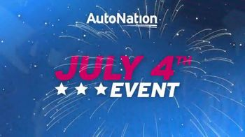 AutoNation July 4th Event TV Spot, 'Freedom From Payments' - Thumbnail 3