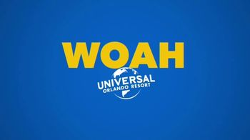 Universal Orlando Resort TV Spot, 'Let's Woah: Two Days Free' - Thumbnail 9