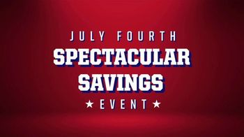 Big O Tires July Fourth Spectacular Savings Event TV Spot, 'Buy Three, Get One Free: Oil Change' - Thumbnail 3