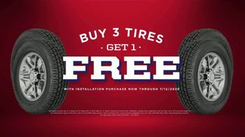 Big O Tires July Fourth Spectacular Savings Event TV Spot, 'Buy Three, Get One Free: Oil Change' - Thumbnail 5