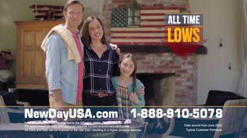 NewDay USA VA Streamline Refi TV Spot, 'Spouses of Veterans: $3000 Per Year' - 37 commercial airings