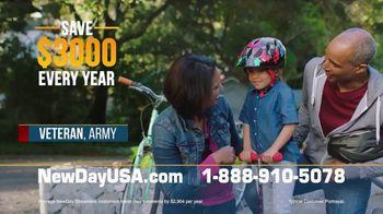 NewDay USA VA Streamline Refi TV Spot, 'Spouses of Veterans: $3000 Per Year' - Thumbnail 2