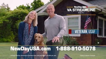NewDay USA VA Streamline Refi TV Spot, 'Spouses of Veterans: $3000 Per Year' - Thumbnail 3