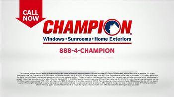 Champion Windows Stimulus Plan TV Spot, '50 Percent Off Windows' - Thumbnail 7
