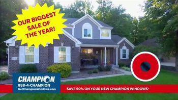 Champion Windows Stimulus Plan TV Spot, '50 Percent Off Windows' - Thumbnail 2