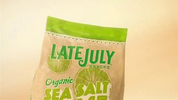 Late July Tortilla Chips Organic Sea Salt & Lime TV Spot, 'Passion and Craft' - Thumbnail 1