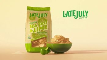 Late July Tortilla Chips Organic Sea Salt & Lime TV Spot, 'Passion and Craft' - Thumbnail 10