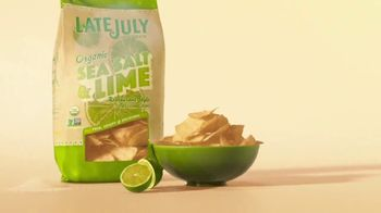 Late July Tortilla Chips Organic Sea Salt & Lime TV Spot, 'Passion and Craft' - Thumbnail 9