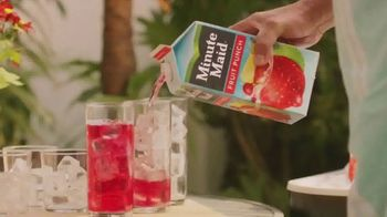 Minute Maid Fruit Punch TV Spot, 'Meeting the Family' - Thumbnail 1