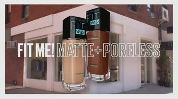 Maybelline New York Fit Me! Foundation TV Spot, 'Most Natural Matte' - Thumbnail 8