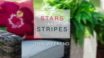 Ashley HomeStore Stars and Stripes Sale TV Spot, 'Zero Percent Financing or 25 Percent Off'