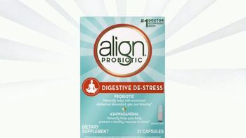 Align Probiotics Digestive De-Stress TV Spot, 'Probiotic With Ashwagandha'
