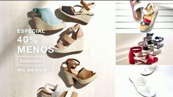 Macy's Venta del 4 de Julio TV Spot, 'Sandalias, toallas y almohadas' [Spanish] - Thumbnail 5