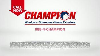 Champion Siding Stimulus Plan TV Spot, 'The Best Time: 30 Percent Off' - Thumbnail 9