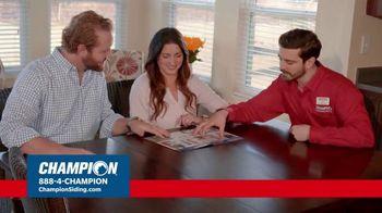 Champion Siding Stimulus Plan TV Spot, 'The Best Time: 30 Percent Off' - Thumbnail 5