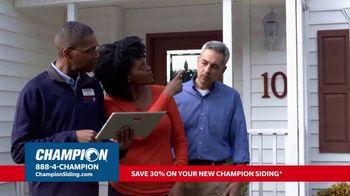 Champion Siding Stimulus Plan TV Spot, 'The Best Time: 30 Percent Off' - Thumbnail 6