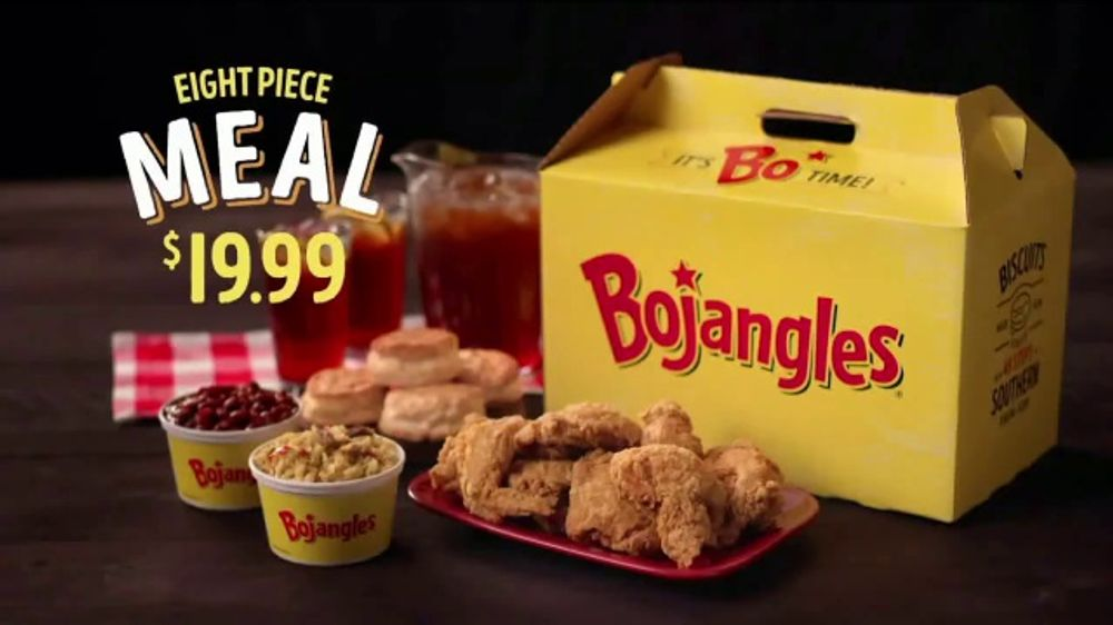 Bojangles' Eight Piece Meal TV Commercial, 'Upside Down'