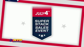 NTB July 4th Super Stack Sales Event TV Spot, 'Buy Two, Get Two' - Thumbnail 1