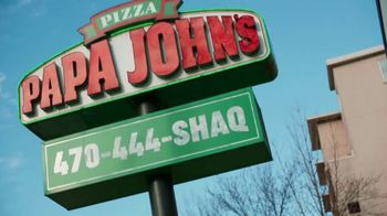 Papa John's Shaq-a-Roni TV Spot, 'Delivering Better' Featuring Shaquille O'Neal, Song by Nappy Roots - Thumbnail 1