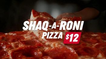 Papa John's Shaq-a-Roni TV Spot, 'Delivering Better' Featuring Shaquille O'Neal, Song by Nappy Roots - Thumbnail 3