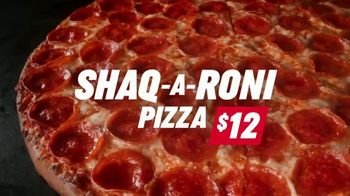 Papa John's Shaq-a-Roni TV Spot, 'Delivering Better' Featuring Shaquille O'Neal, Song by Nappy Roots - Thumbnail 4