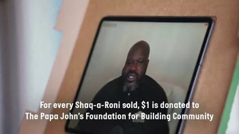 Papa John's Shaq-a-Roni TV Spot, 'Let's Roll' Featuring Shaquille O'Neal, Song by Nappy Roots