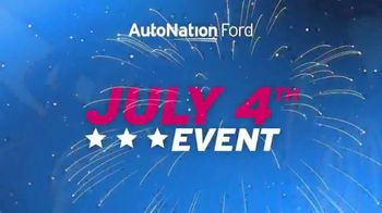 AutoNation Ford July 4th Event TV Spot, 'Freedom From Interest' - Thumbnail 3