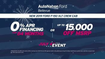 AutoNation Ford July 4th Event TV Spot, 'Freedom From Interest' - Thumbnail 7