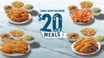 Long John Silver's $20 Meals TV Spot, 'Choose'