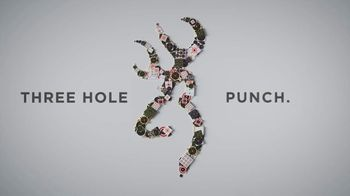 Browning X-Bolt TV Spot, 'Three Hole Punch'