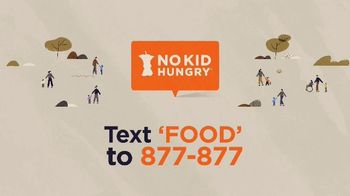 No Kid Hungry TV Spot, 'Free Meals for Kids' - Thumbnail 9