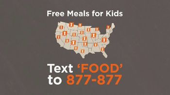 No Kid Hungry TV Spot, 'Free Meals for Kids' - Thumbnail 5