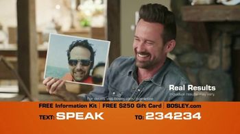 Bosley TV Spot, 'Not 1970: $250 Off'