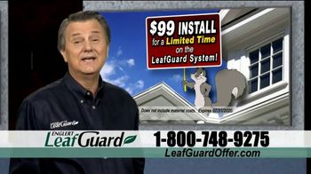 LeafGuard $99 Install Sale TV Spot, 'Ladder Accidents'