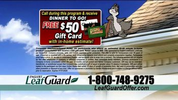 LeafGuard $99 Install Sale TV Spot, 'Ladder Accidents' - Thumbnail 8